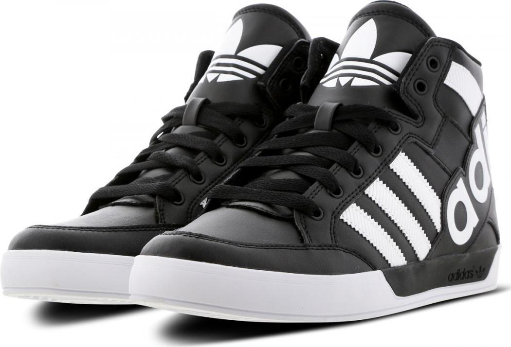 Chaussure de Basket Adidas Hardcourt Big Logo Homme Blanche