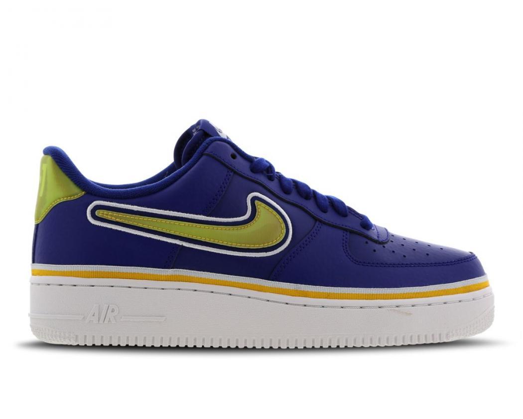 Basketball | Homme Nike Air Force 1 Low Blanc / Bleu / Or · Danzón ...