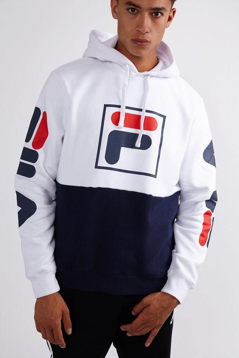 hoodie fila homme