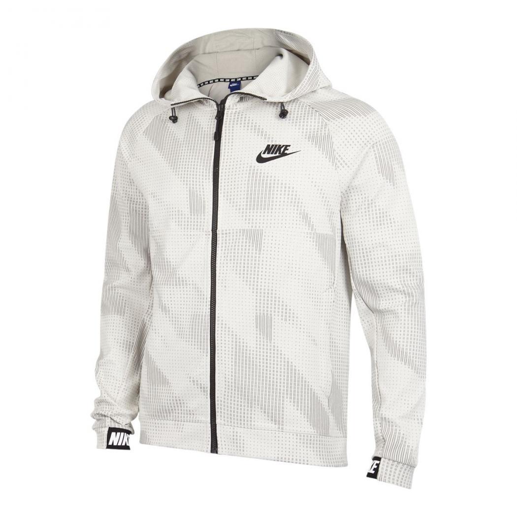 Hoodies | Homme Nike Advance Fleece 15 All Over Print Full Zip Blanc ·  Danzón Pérez