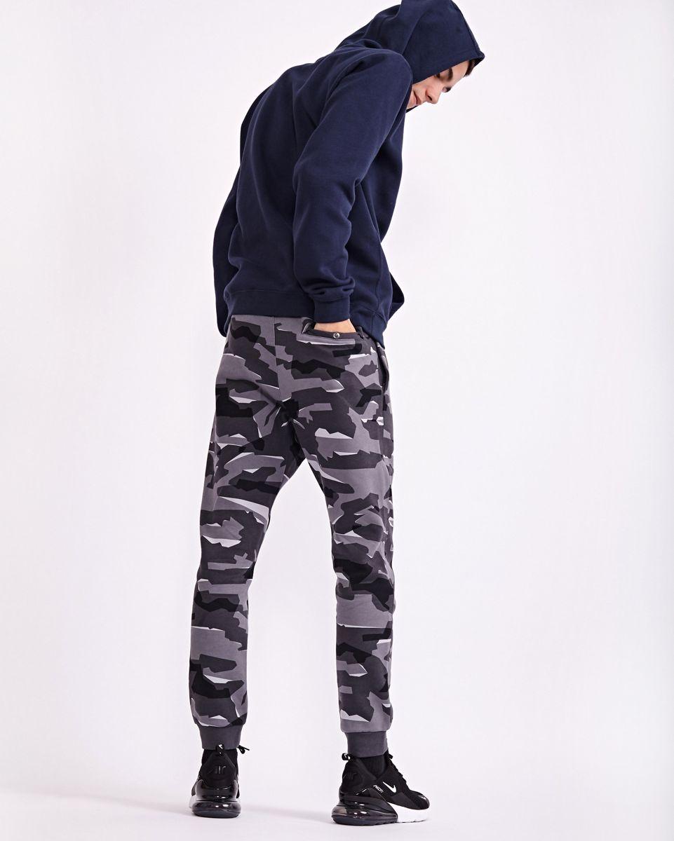 Pantalons | Homme Nike Club Camo All Over Print Noir Gris · Danzón Pérez