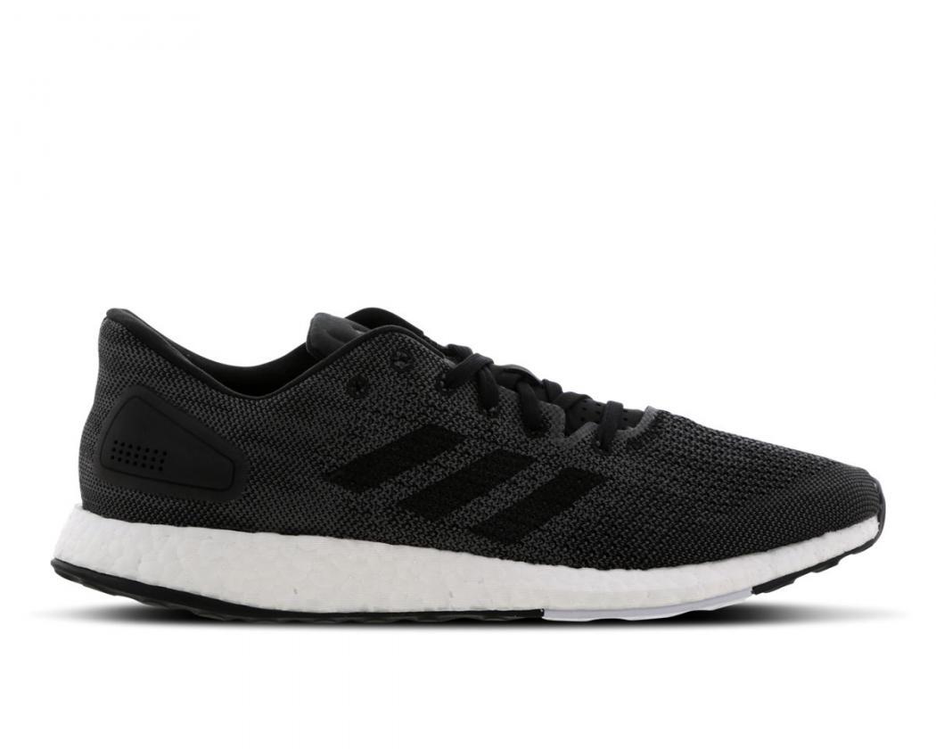 Running | Homme adidas Pure Boost Blanc Noir Gris · Danzón Pérez