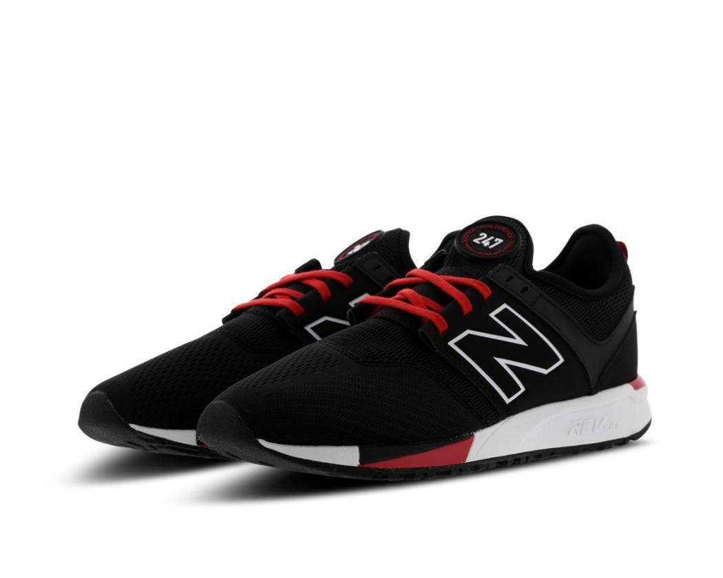 new balance 247 blanche et rouge