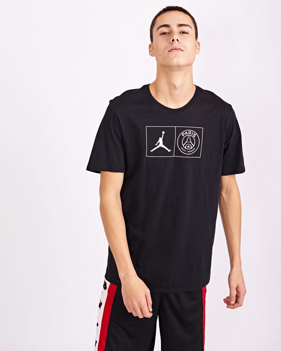 T Shirts | Homme Jordan x PSG Blanc Noir · Danzón Pérez